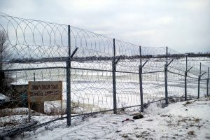 Забор на берегу Егоза